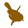 Vector clipart: bird silhouette