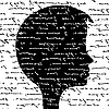 Vector clipart: head silhouette