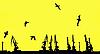 Vector clipart: silhouette shipyard