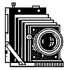 Vector clipart: retro camera