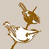 Vector clipart: birds silhouette