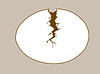 Vector clipart: egg silhouette
