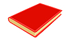 Vector clipart: red note pad