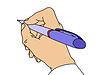Векторный клипарт: обращаться в руки