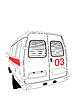 Векторный клипарт: машины скорой помощи