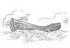 Векторный клипарт: лодка