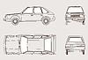 Векторный клипарт: силуэт автомобиля