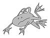 Векторный клипарт: лягушка,