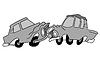 Векторный клипарт: розыгрыш автомобилей,