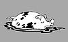 Векторный клипарт: свинья рисунок