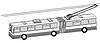 Trolleybus Silhouette,