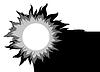 Векторный клипарт: Солнце,