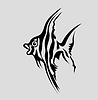 Vector clipart: fish silhouette