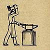 Векторный клипарт: гранж-фон