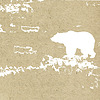 grunge background with bear