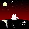 ID 3245144   달에 바다에 배   높은 해상도 그림   CLIPARTO