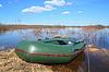 ID 3245168 | Schlauchboot an der Küste Fluss | Foto mit hoher Auflösung | CLIPARTO