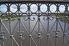 Photo 300 DPI: bridge banisters through greater river