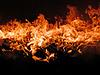 Photo 300 DPI: fire in stove