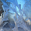 Ice on window | Stock Foto