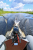 ID 3252228 | Motor boat on small river | High resolution stock photo | CLIPARTO