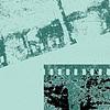 camera film on grunge background