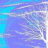 Vector clipart: white tree