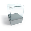 Empty display case | Stock Illustration