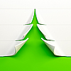 3d stylized Christmas tree | Stock Illustration
