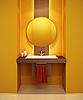 Modernes Interieur eines Badezimmers | Stock Illustration