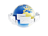 글로벌 대응   Stock Illustration