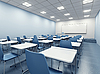 Modern classroom interior | Stock Illustration