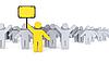 Streik der Arbeiter   Stock Illustration