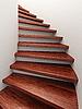 Spirale Holztreppe | Stock Illustration