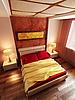 Estilo moderno interior del dormitorio 3d | Ilustración