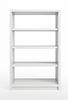 Photo 300 DPI: white bookcase