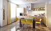 ID 3267919 | Moderne Küche Interieur 3d render | Illustration mit hoher Auflösung | CLIPARTO