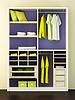 Modern closet 3d rendering | Stock Illustration