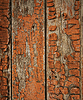 Old painted wood texture | Stock Foto