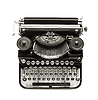 Antique typewriter | Stock Foto
