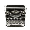 Máquina de escribir antigua | Foto de stock