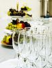 Table set for wedding dinner | Stock Foto