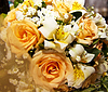 Wedding bouquet with roses | Stock Foto