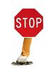 Photo 300 DPI: stop smoking sign