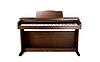 Photo 300 DPI: brown piano on white