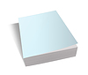 Blank book cover blue | Stock Foto