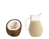Photo 300 DPI: coconut milk
