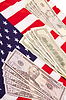 ID 3241053 | US flag with dollars | 높은 해상도 사진 | CLIPARTO