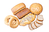 Assortment of baked bread | Stock Foto