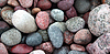 Pebble stones background | Stock Foto